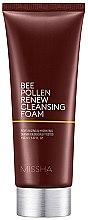 Parfumuri și produse cosmetice Spumă de curățare - Missha Bee Pollen Renew Cleansing Foam