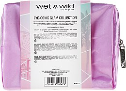 Set - Wet N Wild Eye-Conic Glam Collection (eyesh/palette/4.5g + eyeliner/0.5g + mascara/8ml + bag) — Imagine N2