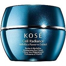 Parfumuri și produse cosmetice Cremă pentru zona ochilor - Kose Rice Power Extract Cell Radiance Revive & Revitalize Moisturizing Eye Cream