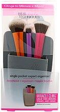 Parfumuri și produse cosmetice Organizator pentru pensule de machiaj, gri - Real Techniques Single Pocket Expert Organizer Grey