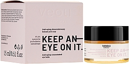 Parfumuri și produse cosmetice Balsam concentrat anti-îmbătrânire sub ochi - Veoli Botanica Anti-aging Concentrated Eye Balm Keep An Eye On It