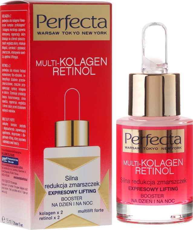 Elixir Multi-Collagen - Dax Cosmetics Perfecta Multi-Collagen Retinol Booster