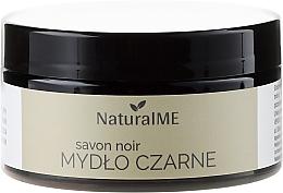 Parfumuri și produse cosmetice Săpun negru natural - NaturalME Black Soap Savon Noir