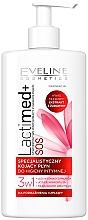 """Parfumuri și produse cosmetice Gel pentru igiena intimă """"Cranberry"""" - Eveline Cosmetics Lactimed+"""