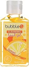 """Parfumuri și produse cosmetice Gel antibacterian de curățare pentru mâini """"Lămâie"""" - Bubble T Cleansing Hand Gel"""