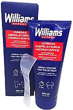 Parfumuri și produse cosmetice Cremă depilatoare pentru bărbați - Williams Crema Depilatoria Moisturizing