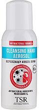 Parfumuri și produse cosmetice Spray antibacterian pentru mâini - TSR Antibacterial Cleansing Hand Aerosol