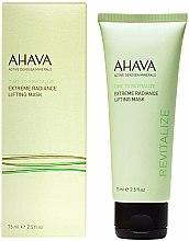 Parfumuri și produse cosmetice Mască de față - Ahava Time to Revitalize Extreme Radiance Lifting Mask