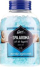 Parfumuri și produse cosmetice Sare de baie, albastră - Cari Spa Aroma Salt For Bath