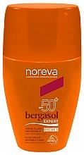 Parfumuri și produse cosmetice Cremă impermeabilă pentru corp cu protecție solară - Noreva Laboratoires Bergasol Expert Cream Invisible Finish Fluid SPF50+