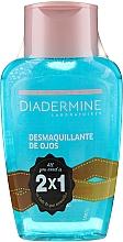 Parfumuri și produse cosmetice Set - Diadermine ( eye/makeup/remover/2x125ml)