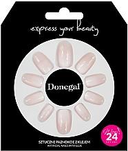 Parfumuri și produse cosmetice Set unghii false cu adeziv, 3058 - Donegal Express Your Beauty