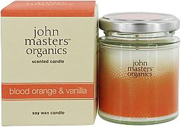 Parfumuri și produse cosmetice Lumânare organică de soia - John Masters Organics Soy Wax Candle Blood Orange & Vanilla