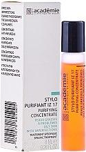 Parfumuri și produse cosmetice Creion de curățare Iris-Zinc 17 - Academie Purifying Concentrate IZ 17