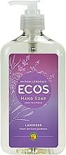 """Parfumuri și produse cosmetice Săpun organic pentru mâini """"Lavandă"""" - Earth Friendly Ecos Hand Soap Lavender Description"""