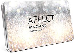 Parfumuri și produse cosmetice Paletă de machiaj - Affect Cosmetics Glossy Box Mini Aluminium Palette