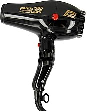 Parfumuri și produse cosmetice Uscător de păr - Parlux Hair Dryer 385 Powerlight Ionic & Ceramic Black