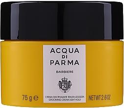 Parfumuri și produse cosmetice Cremă pentru păr, fixare ușoară - Acqua Di Parma Barbiere Grooming Cream Light Hold