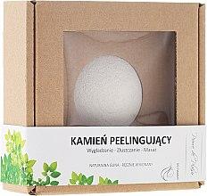 Parfumuri și produse cosmetice Piatră naturală pentru peelingul feței, albă - Pierre de Plaisir Natural Scrubbing Stone Face
