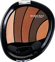 Parfumuri și produse cosmetice Fard de pleoape - Deborah Perfect Smokey Eye Palette