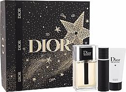 Parfumuri și produse cosmetice Dior Xmas New Dior Homme Jewel Box - Set (edt/100ml + edt/10ml +sh/gel/50ml)