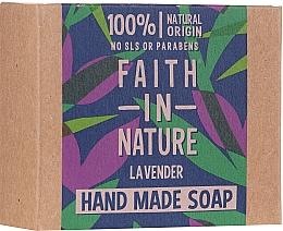 Parfumuri și produse cosmetice Săpun cu lavandă - Faith In Nature Lavender Soap