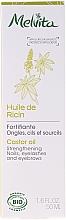 Parfumuri și produse cosmetice Ulei pentru întărirea unghiilor și a genelor - Melvita Huiles De Beaute Castor Oil