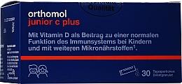 """Parfumuri și produse cosmetice Vitamine pentru copii """"Junior C Plus"""", zmeură și tei - Orthomol Immun"""