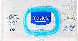 Parfumuri și produse cosmetice Șervețele demachiante pentru copii - Mustela Bebe Cleansing Wipes