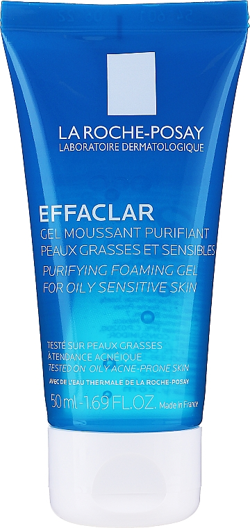Gel spumant purifiant pentru ten gras și acneic - La Roche-Posay Effaclar Gel Moussant Purifiant