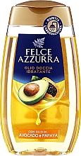 """Parfumuri și produse cosmetice Ulei de duș """"Avocado și Papaya"""" - Felce Azzurra Shower Oil"""