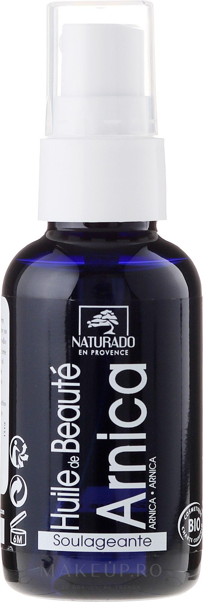 Ulei pentru față cu flori de arnică - Naturado Arnica Oil — Imagine 50 ml