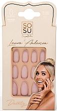 Parfumuri și produse cosmetice Set unghii false - Sosu by SJ False Nails Medium Stiletto Laura Anderson Dainty