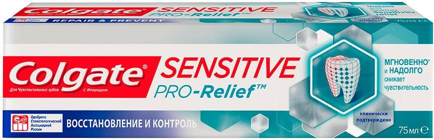 """Pastă de dinți """"Regenerare și control"""" - Colgate Sensitive Pro-Relief — Imagine N1"""