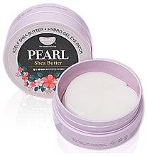Parfumuri și produse cosmetice Patch-uri hidrogel cu extract de perle și unt de shea - Petitfee & Koelf Pearl & Shea Butter Eye Patch