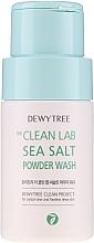 Parfumuri și produse cosmetice Pudră de curățare cu sare de mare - Dewytree The Clean Lab Sea Salt Powder Wash