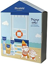 Parfumuri și produse cosmetice Set - Mustela Bebe (milk/100ml + lotion/125ml + clean/gel/200ml)