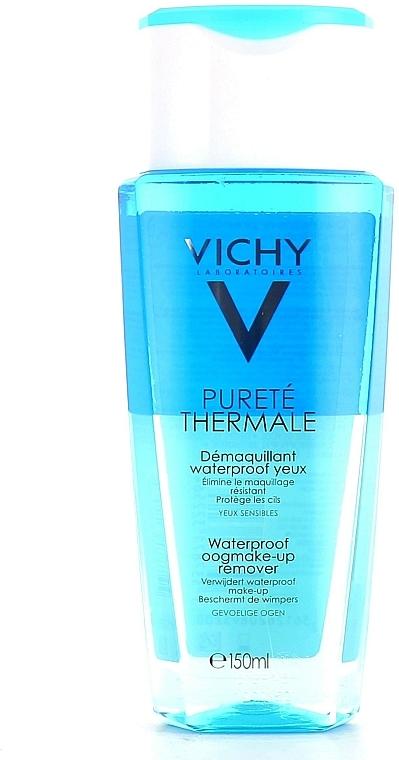 Demachiant de ochi în 2 faze - Vichy Purete Thermale Waterproof Eye Make-Up Remover — Imagine N4