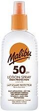 Parfumuri și produse cosmetice Loțiune-Spray de protecție solară pentru corp - Malibu Sun Lotion Spray High Protection Water Resistant SPF 50
