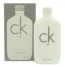 Calvin Klein CK All - Apă de toaletă (tester cu capac) — Imagine N3