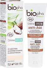 Parfumuri și produse cosmetice Cremă antirid de zi - Biopha Nature Creme Jour Anti-Age