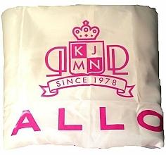 Parfumuri și produse cosmetice Pelerină pentru coafor, albă - Kallos