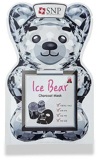 Mască cu cărbune pentru față - SNP Ice Bear Charcoal Mask