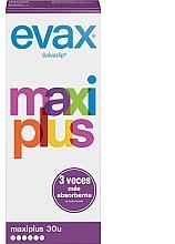 """Parfumuri și produse cosmetice Absorbante de zi """"Maxi Plus"""", 30buc - Evax Salvaslip"""