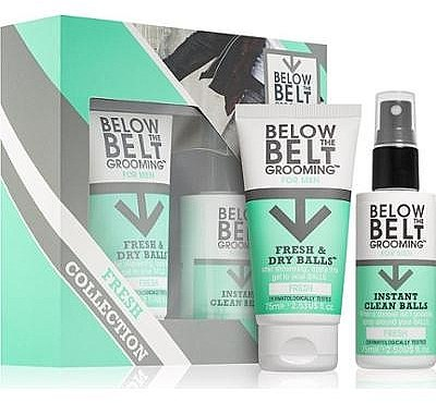 Set - Below The Belt Grooming Fresh & Dry Fresh (gel/75ml+spray/75ml) — Imagine N1