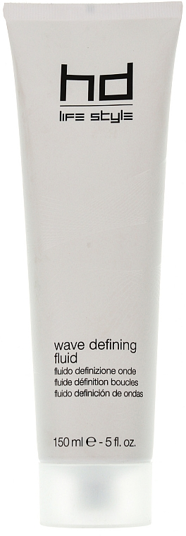 Fluid pentru păr, cu fixare ușoară - Farmavita HD Wave Defining Fluid — Imagine N1