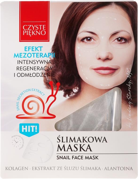 """Mască de față """"Melc"""" - Czyste Piekno Snail Face Mask"""