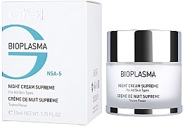 Cremă nutritivă de noapte - Gigi Bioplasma Night Cream Supreme — Imagine N1