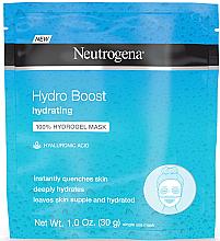 Parfumuri și produse cosmetice Mască de hidrogel pentru față - Neutrogena Hydro Boost Hydrating Hydrogel Mask