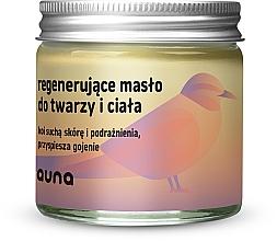 Parfumuri și produse cosmetice Ulei revitalizant pentru față și corp - Auna Regenerating Face And Body Butter